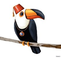 Toucan Character by Tom-Cii