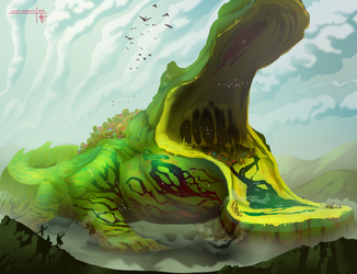 Wetlands Giant by Thylacinee