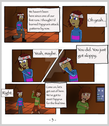 Undertale: The Rescue Op - Page 3 by CrackerHumps