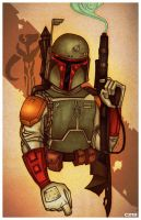 Boba Fett by ChrissieZullo