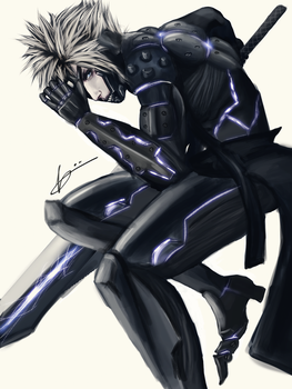 Cloud Strife x METAL GEAR SOLID by jnzh1206