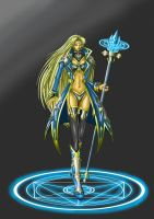 Sorceress of Crystals by ViolentSkar