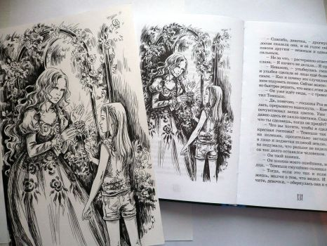 book and  illustration together by Maria-Sandary