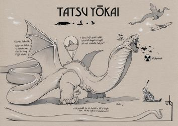 TATSU YOKAI Concept Art (Savage Game) by ChrisBMurray