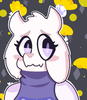 Toriel, Goat mom, best mom. by KukuruKami