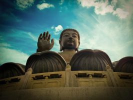 Buddha from Hong Kong by kitty974
