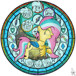 Starly Gust Stained Glass by MlpStarluck9924