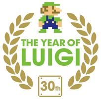 Year of Luigi Logo Vector by ShadicStudios