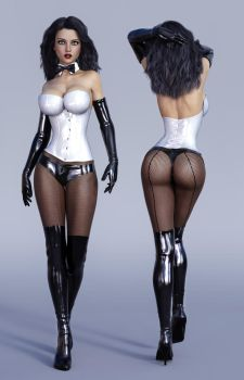 Character Reference Zatanna by tiangtam
