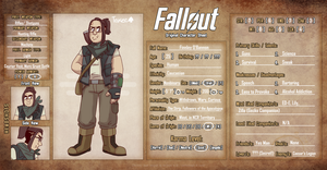 Fallout OC: Finn by Toxicmongoose