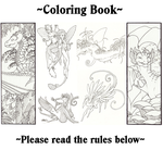 Coloring book rules by thedancingemu