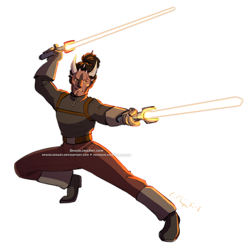 Jedi Cer by SpacelingArt