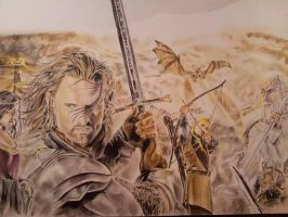 Lord of the Rings Fanart by mchofmann