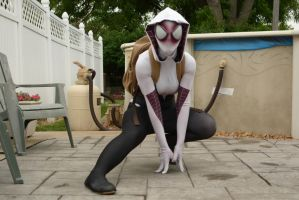 New Spider-Gwen suit by The RPC Studio by thatsthatonegirl