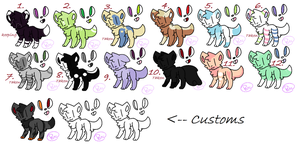 Kitteh Cat Adopts(OPEN) by W0lfCake