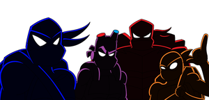Rise of the Heroes in a Half Shell by SuperSentaiHedgehog