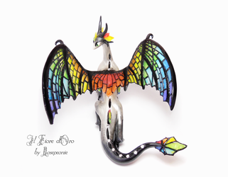 Rainbow Glasswing deluxe 2 by rosepeonie