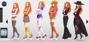 Gigi meme outfits by yamixitachi