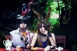 Alice in Wonderland: Hatter and March Hare by RuiYujin