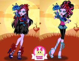Gloom and Bloom Jane Boolittle Dress Up by heglys
