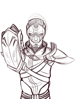 League of Legends - Jhin WIP by AB-Anarchy