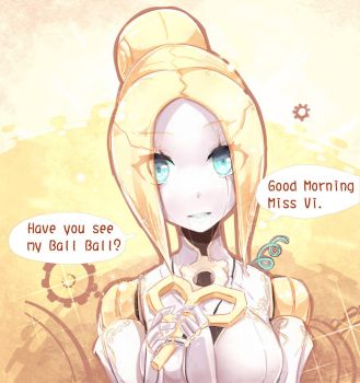 Orianna story 3 Have you see Ball Ball by beanbeancurd