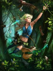 Legend of the Cryptids  - Sylvan by Toru-meow
