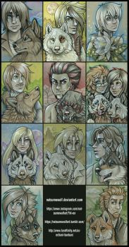 Wolves in Human Clothing: WR Next Generation by NatsumeWolf