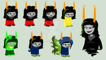 Majlaa Sprites for Tlenderman by SavannaEGoth