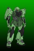 Luna Genus Style Zaku II by Linkinpark30101