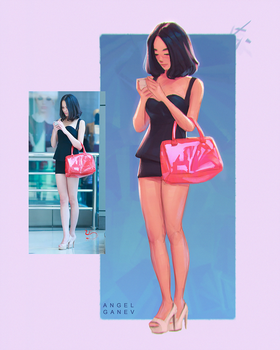 Pink Bag - Day #346 by AngelGanev