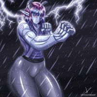 Fighting Stance by sixpathsoffriendship