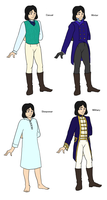 Sebastian Wardrobe by Moonlit-Creator