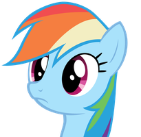 Rainbow Dash wat. by RichHap