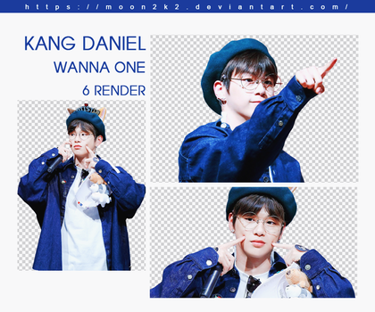 ( PACK RENDER ) KANG DANIEL - WANNA ONE by Moon2k2