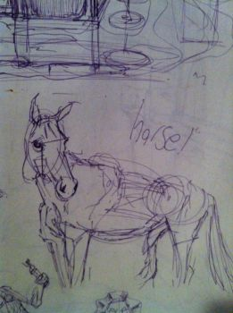 HORSE by xf11