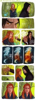 LOTR - The Heart Of The Forest (part1) by the-evil-legacy