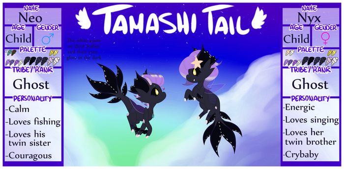 Tamashi Tails MYO Ref - Neo and Nyx by moonpaw-of-Shadclan
