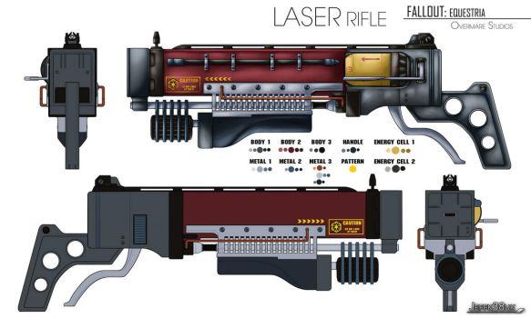 Overmare Studios: FEQ: Laser Rifle by Jeffk38uk