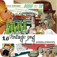 vintage png by SweetsBlue