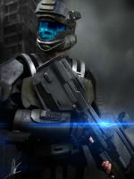 ODST Halo 4 Battle Rifle by CpCody