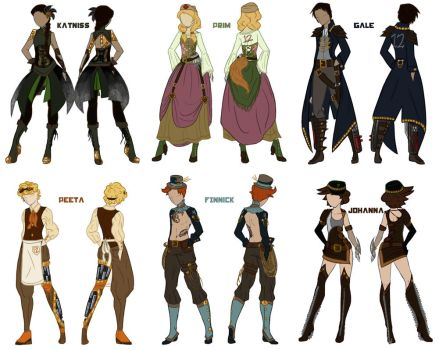 Steampunk Hunger Games by evanesce24