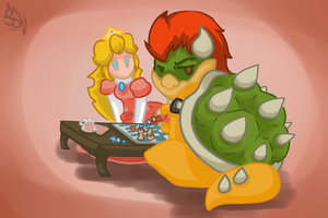 Go away, we're playing chess... by Smash-Wolf