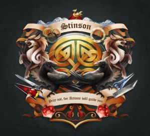 Stinson - Family Crest by TsaoShin