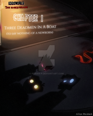 [Eddsworld VtMB AU] Chapter 1 Cover by pirran-p