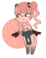 [CLOSED] lil monster adopt by uviixo