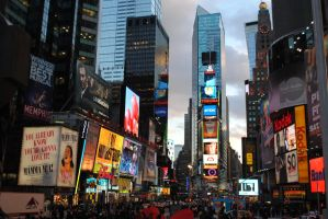 Times Square by Swaal