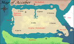 Map of Acceber by Rebecca1208