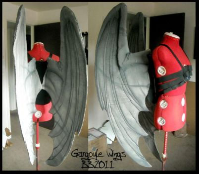Gargoyle Wings 1 by Magpieb0nes