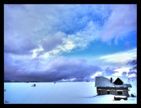 Alone in the clouds HDR by Judasz8